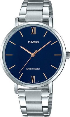 CASIO A1623 Enticer Lady's   LTP VT01D 2BUDF   Analog Watch   For Women CASIO Wrist Watches