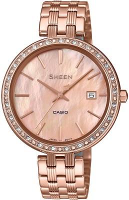 Casio SX243 Sheen Analog Watch  – For Women
