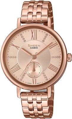 Casio SX238 Sheen Analog Watch  – For Women