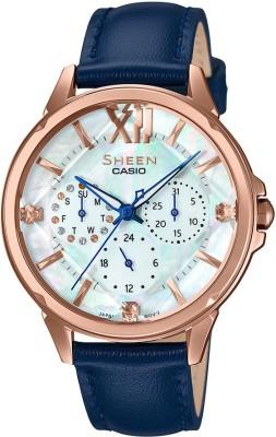 Casio SX254 Sheen Analog Watch  – For Women