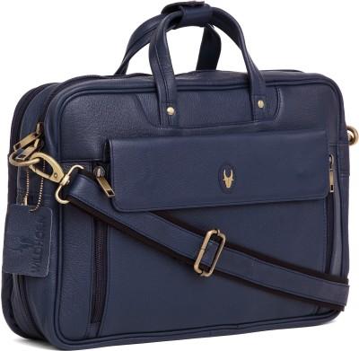 WildHorn 15 inch Laptop Messenger Bag Blue