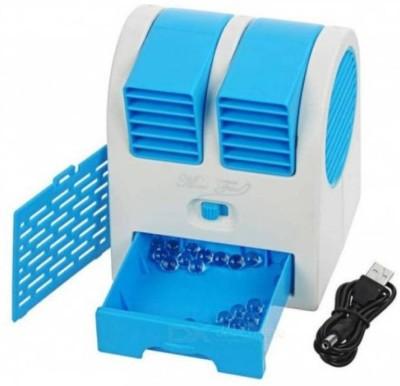 Trost Mini USB Cooler Bladeless Adjustable Speed USB Fan Multicolor