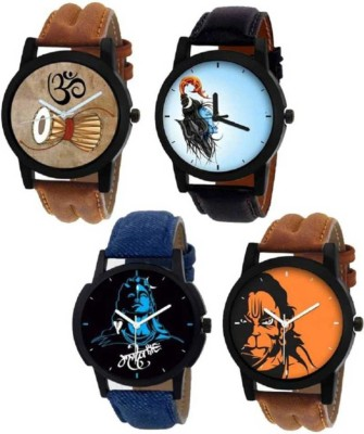 Nowey SUper New Stylish Modern Collection Four Combo Analog Watch - For Men Analog Watch  - For Men