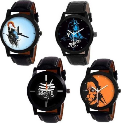 Nowey SUper New Stylish Modern Collection 4Combo Analog Watch - For Men Analog Watch  - For Men