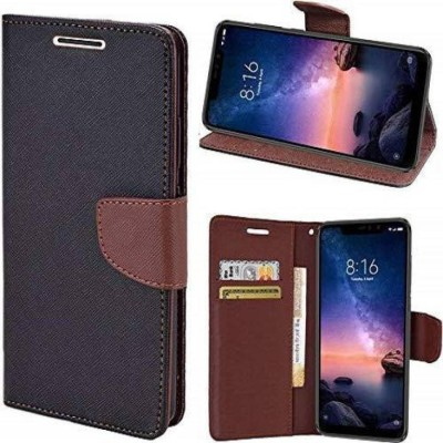 Cellshop Flip Cover for Samsung Galaxy J7 - 2015(Brown)
