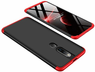 Vodex Front & Back Case for Oppo F11 Pro(Red, Dual Protection)