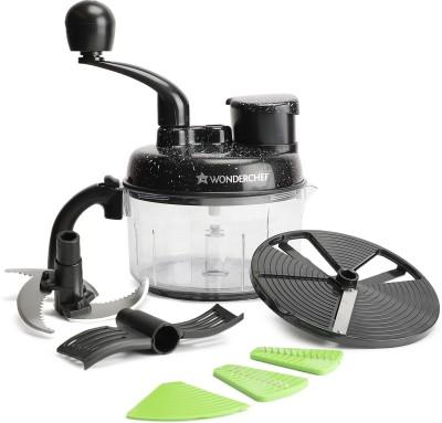 Wonderchef Turbo Dual Speed Food Processor Vegetable & Fruit Chopper(1 Food Processor)