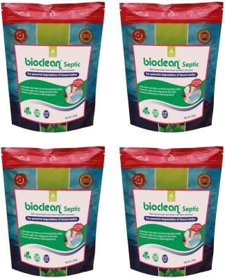 Bioclean Septic Bioclean Septic Tank Cleaner Odor eliminator Powder Drain Opener��(1 kg, Pack of 4) Powder Drain Opener(1 kg, Pack of 4)