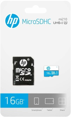 HP U1 16 GB MicroSD Card Class 10 80 MB/s Memory Card