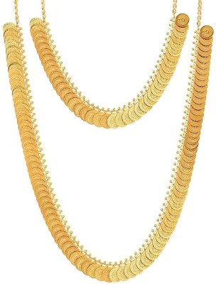 fb4bc72c1fb15 Shining Jewel 24K Lakshmi Coin Pearl Gold-plated Plated Brass ...