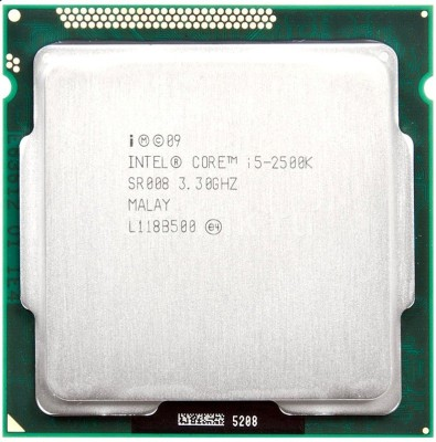 Intel 3.3 GHz LGA 1155 i5 2500K Unlocked Desktop Processor(Silver)