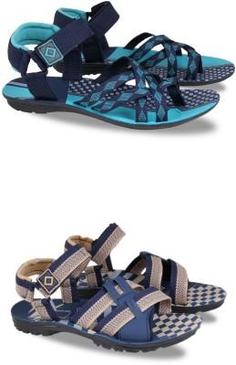Fabbmate Men Multicolor Sports Sandals