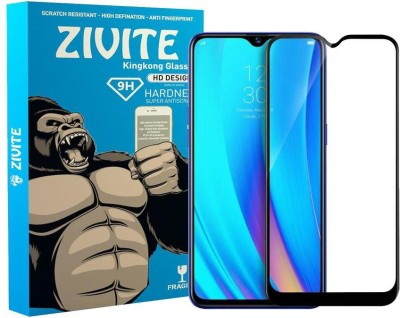 Zivite Edge To Edge Tempered Glass for Realme 3 Pro(Pack of 1)
