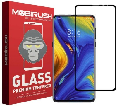 Mobirush Edge To Edge Tempered Glass for Mi Mix 3(Pack of 1)