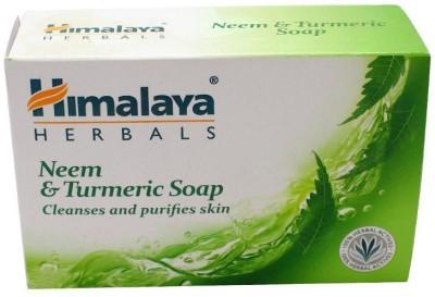 Himalaya Neem & Turmeric Soap 75gm (Pack of 3)(3 x 75 g)