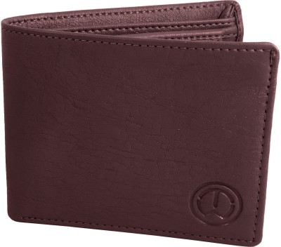 TnW Men Casual Maroon Artificial Leather Wallet