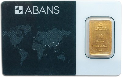 ABANS 10G ABABRA GC B 24  995  K 10 g Gold Bar ABANS Coins   Bars