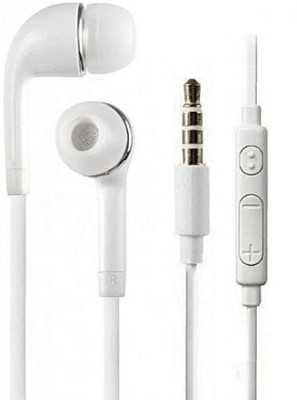 ALLMUSIC high quality yr for vivo/oppo/mi/honor/nokia/moto/realme/asus Wired Headset with Mic(White, In the Ear)