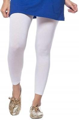 W Legging White, Solid