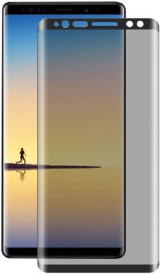 Jacure Edge To Edge Tempered Glass for Samsung Galaxy Note 9 Privacy Anti Glare Scratch Proof Privacy Tempered Glass For Galaxy Note 9(Pack of 1)