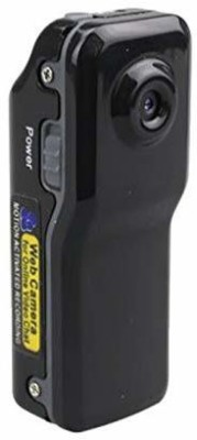 Voltegic Voltegic-Sports Action Cam BLK /- 7008 ® Video Audio Recorder 720P HD DVR Mini DVR Camera with Holder Clip Sports and Action Camera(Black, 3 MP)