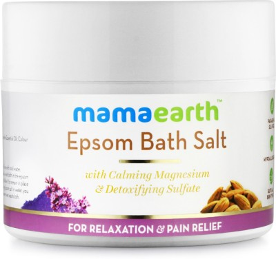 MamaEarth Epsom Bath Salt for Relaxation and Pain Releif(200 g)