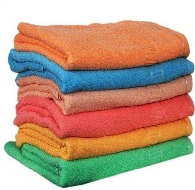 angel home Cotton 450 GSM Hand Towel(Pack of 6)