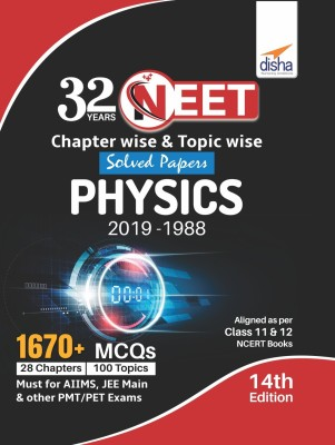 32 Years Neet Chapter-Wise & Topic-Wise Solved Papers
