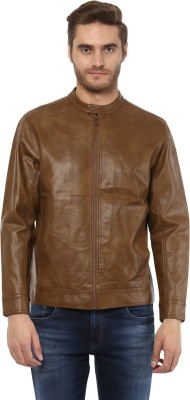 Mufti Full Sleeve Solid Men Jacket