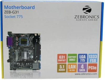 Zebronics ZEB-G31 Motherboard(Black) at flipkart