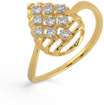 Malabar Gold and Diamonds AJRRNG10220 18kt Diamond Yellow Gold ring