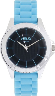 Timex TW035HL02 Helix Analog Watch  - For Women