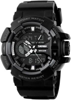 SKMEI SKM15 Analog Digital Watch   For Men SKMEI Wrist Watches
