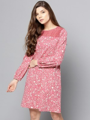 People Women Shift Pink Dress
