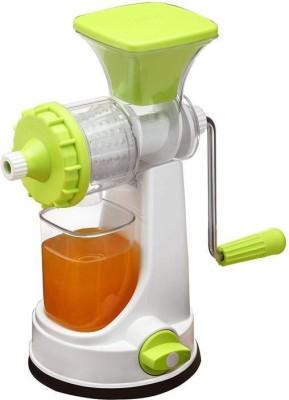 Ruhi Plastic Hand Juicer Plastic Fruit & Vegitable Plastic, Stainless Steel Hand Juicer(Green Pack of 1)