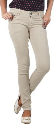 Obeo Slim Women Beige Jeans Obeo Women's Jeans