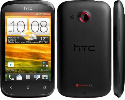 Snooky Front and Back Screen Guard for HTC Desire C(Pack of 1)