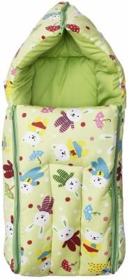 Zahuu Baby Cotton Bed Cum Sleeping Bag GREEN Sleeping Bag(Green)