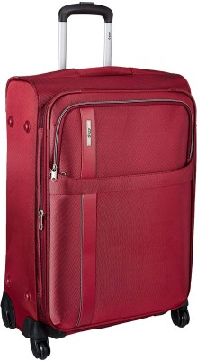 VIP TRYST 4W EXP STROLLY 55 CRIMSON RED Expandable  Check-in Luggage - 23 inch(Red)
