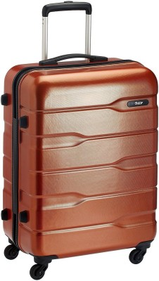 VIP 75 360 (OCT TEX )COP Expandable  Check-in Luggage - 30 inch(Brown)
