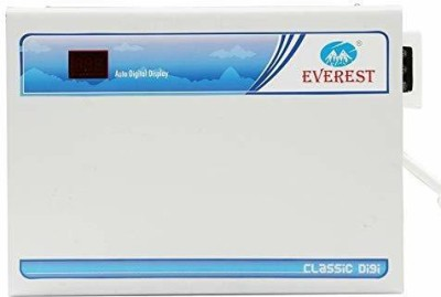 Everest EWD 400 CLASSIC DIGITAL Double Booster Used Upto 2 Ton AC Voltage Stabilizer White