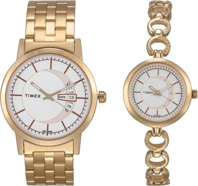 Timex PR59 Analog Watch  – For Couple