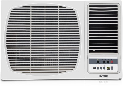 View Intex 1.5 Ton 3 Star Window AC  - White(INW18CU3L-2W, Copper Condenser)  Price Online