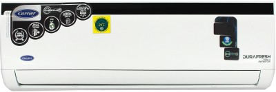 View Carrier 1.5 Ton 5 Star Split Inverter AC  - White(CAI18DN5R39F0, Copper Condenser)  Price Online