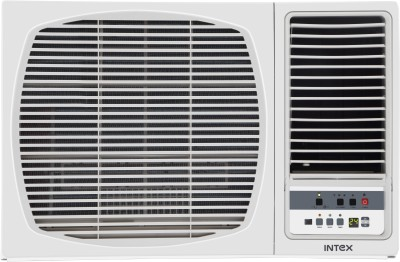 View Intex 1.5 Ton 5 Star Window AC  - White(INW18CU5L-2W, Copper Condenser)  Price Online