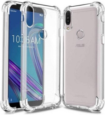 HYPER Back Cover for Asus Zenfone Max Pro M2(Transparent, Shock Proof, Silicon)