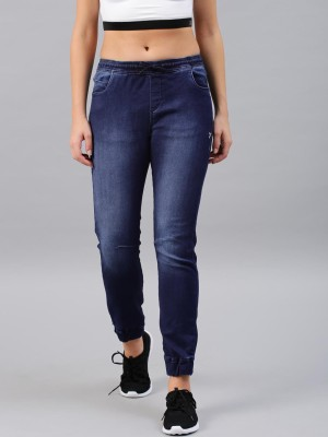 HRX by Hrithik Roshan Jogger Fit Women Blue Jeans at flipkart