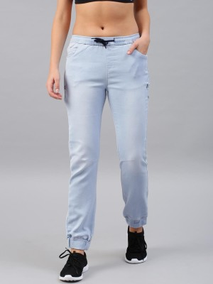 HRX by Hrithik Roshan Skinny Women Blue Jeans at flipkart