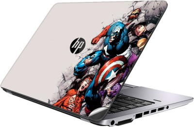 GADGETS WRAP GWSI-23258 Printed Top Only Avengers Abstract Vinyl Laptop Decal 14