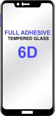 Express Buy Edge To Edge Tempered Glass for Apple Iphone 6 / Apple Iphone 6s (6D Tempered Glass)(Full Glue Glass)(Pack of 1)